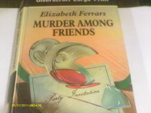 9780708920237: Murder Among Friends
