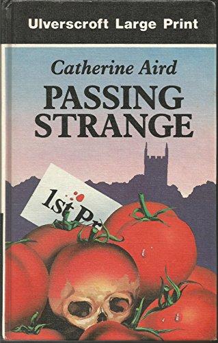 9780708923825: Passing Strange