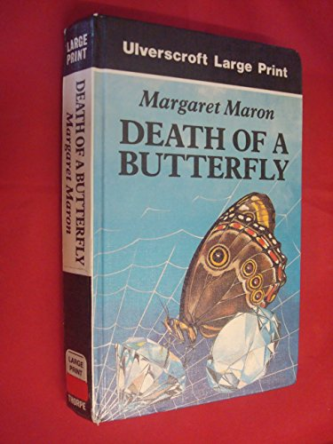 9780708924655: Death of a Butterfly (Ulverscroft Large Print)