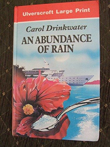 9780708925133: An Abundance of Rain