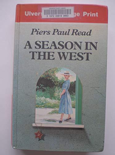 9780708926321: A Season In The West (U)