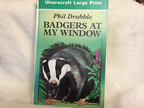 9780708927106: Badgers at My Window