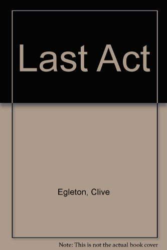 9780708927113: Last Act (U)