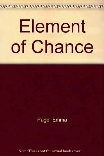 9780708927168: Element of Chance