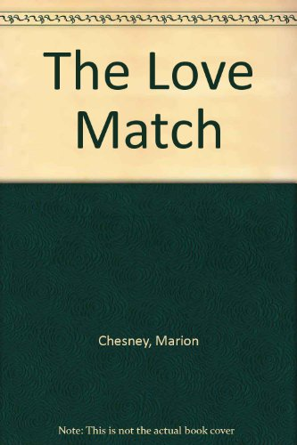 9780708928561: The Love Match