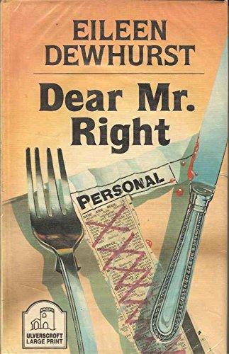 9780708929094: Dear Mr. Right