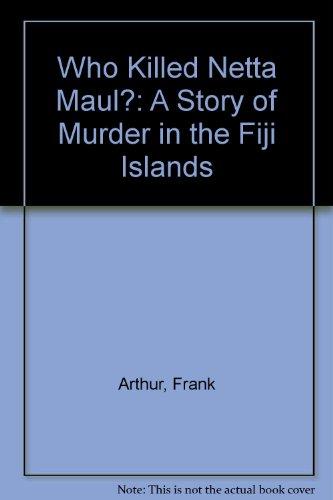 9780708929995: Who Killed Netta Maul? (U)