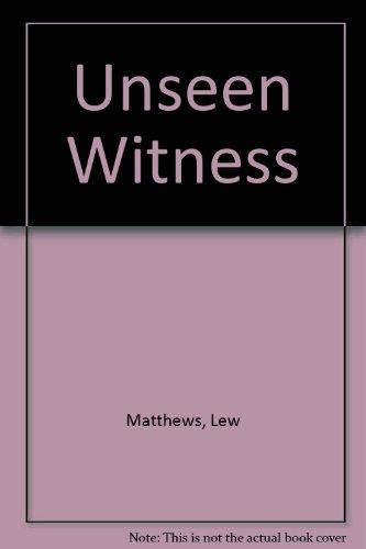 9780708930632: Unseen Witness