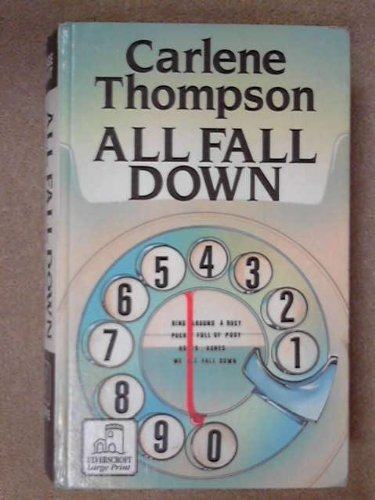 9780708930861: All Fall Down