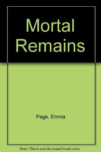 9780708931189: Mortal Remains