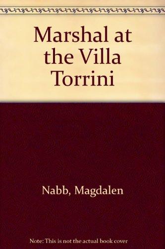 9780708932650: Marshal at the Villa Torrini