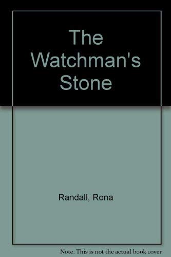 9780708932803: The Watchman's Stone