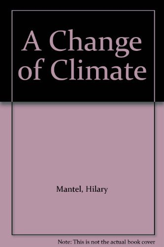 9780708933503: A Change of Climate