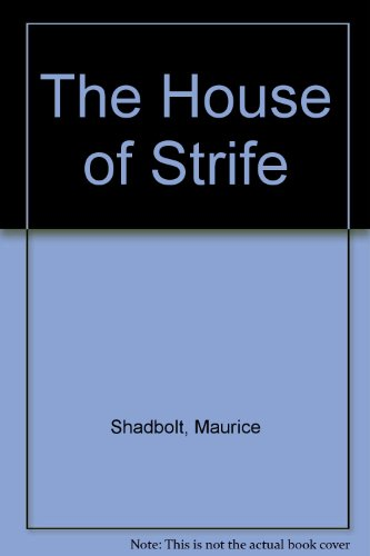 9780708933992: The House of Strife