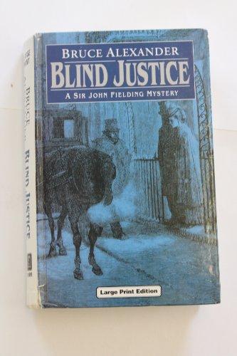 9780708936061: Blind Justice (U) (Ulverscroft Large Print Series)
