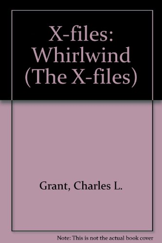 "9780708936344: ""X-files"": Whirlwind (The X-files)"
