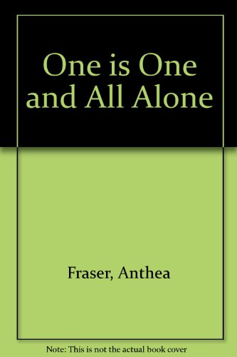 9780708937914: One Is One and All Alone