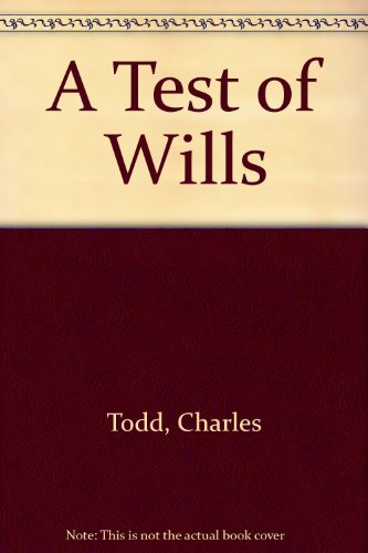 9780708940068: A Test of Wills