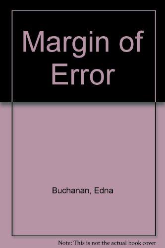 9780708941898: Margin of Error