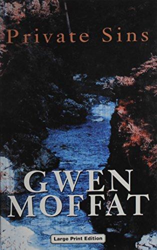 9780708943649: Private Sins (Ulverscroft Large Print Series)