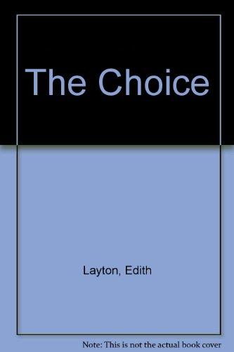 9780708944769: The Choice
