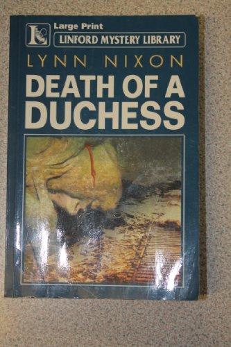 Death of a Duchess (Linford Mystery): Nixon, Lynn