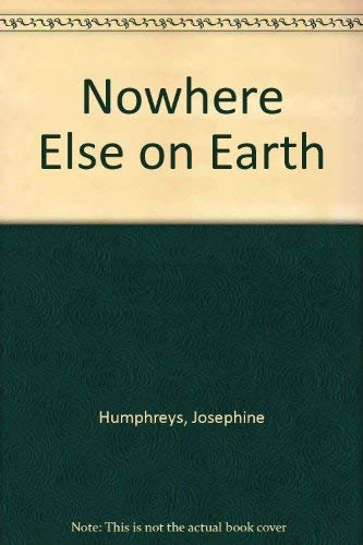 9780708947487: Nowhere Else on Earth