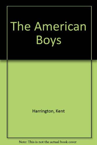9780708947715: The American Boys
