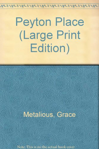 9780708948354: Peyton Place (Large Print Edition)