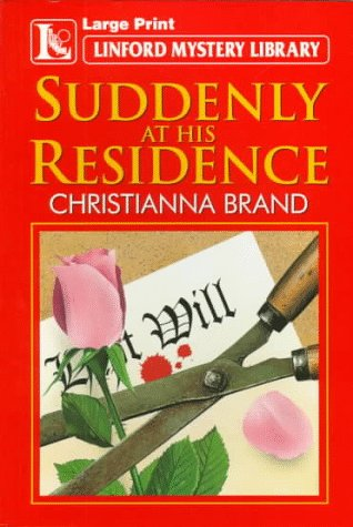 9780708951071: Suddenly At His Residence (LIN) (Linford Mystery Library)