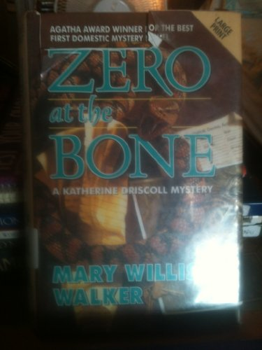 9780708958308: Zero At The Bone