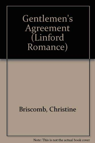 Gentlemen's Agreement (Linford Romance Library (Large Print)): Briscomb, Christine