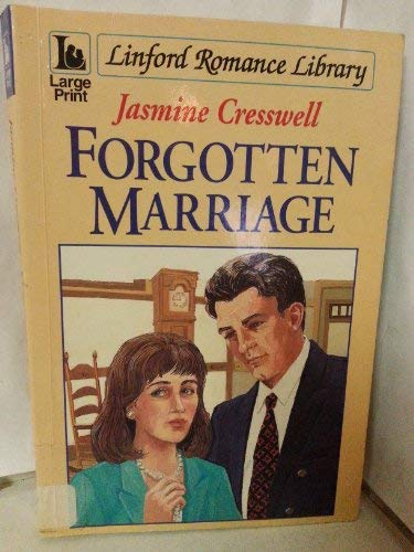 9780708978405: Forgotten Marriage (LIN) (Linford Romance Library)