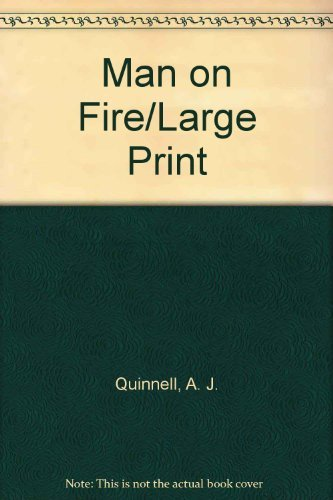 9780708980453: Man on Fire/Large Print
