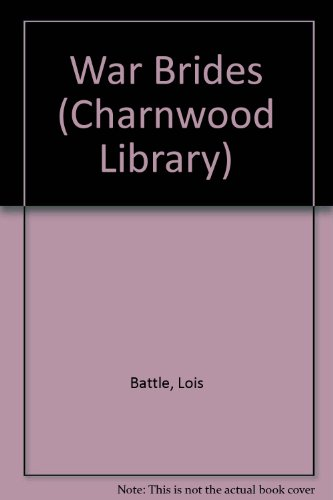 9780708981207: War Brides (Charnwood Library)