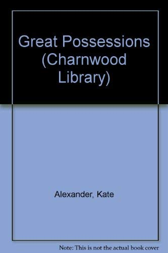 9780708985694: Great Possessions (CH) (Charnwood Large Print Library Series)