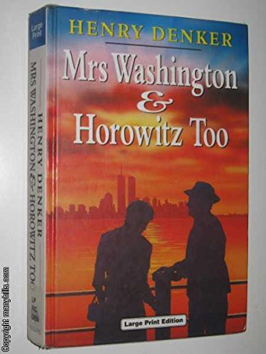 9780708988626: Mrs. Washington and Horowitz Too (Charnwood Library)