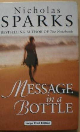 9780708991886: Message in a Bottle (Charnwood Library)