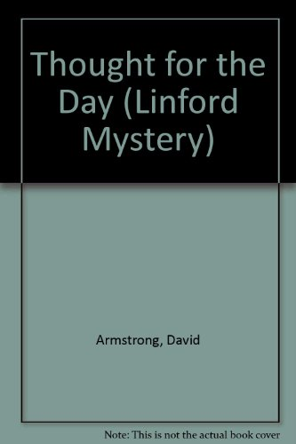 9780708998724: Thought For The Day (LIN) (Linford Mystery)