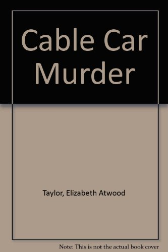 9780709008002: The Cable Car Murder