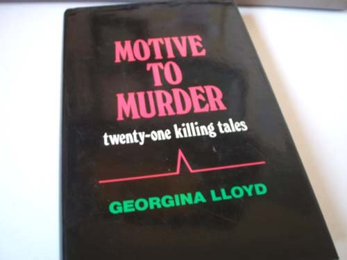 9780709032700: Motive To Murder