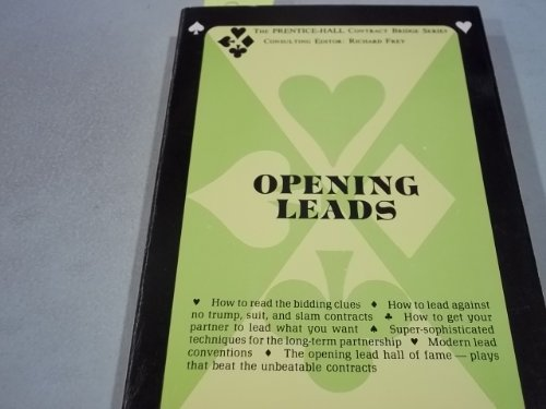 9780709036920: Opening Leads