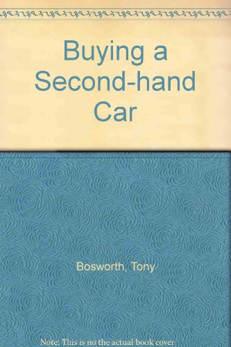 9780709048251: Buying a Second-hand Car
