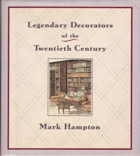 9780709050025: Legendary Decorators of the Twentieth Century