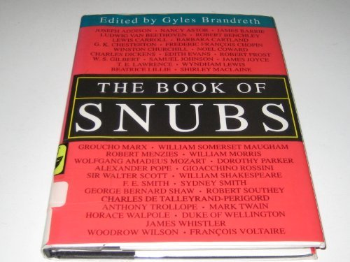 9780709054986: The Book of Snubs