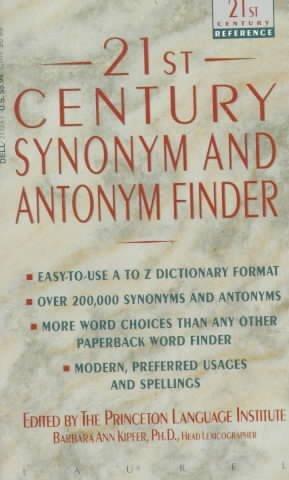 9780709057802: 21st Century Synonym and Antonym Finder