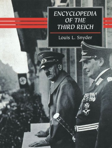 9780709062110: Encyclopedia of the Third Reich