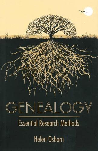 9780709091974: Genealogy: Essential Research Methods