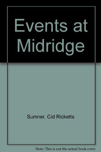 9780709117124: Events at Midridge