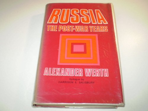 9780709124412: Russia: The Post-war Years